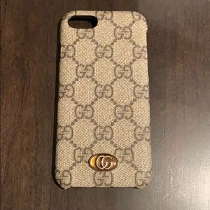 Gucci Ophidia iPhone 8 case! USED ONCE!